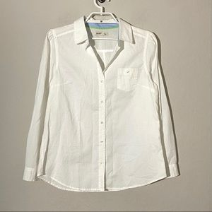 Old Navy Cotton Button Down Long Sleeve Blouse